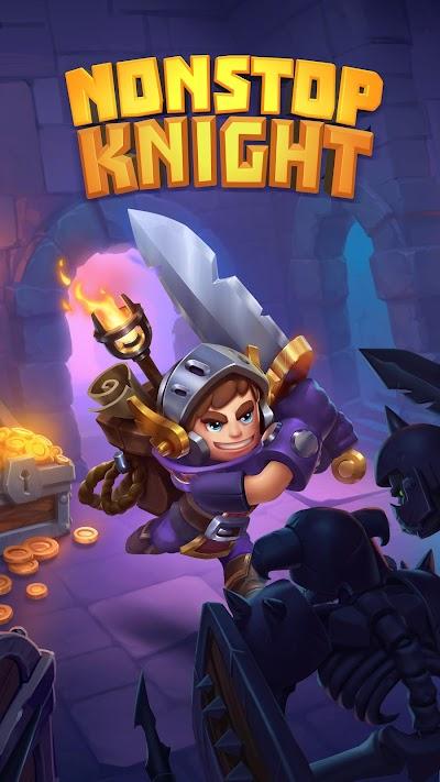 Nonstop Knight - Offline Idle RPG Clicker Android App Screenshot