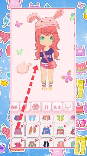 Chibi Avatar: Cute Doll Avatar Maker apktram screenshots 4