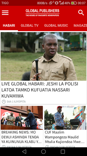 Global App  Screenshots 1