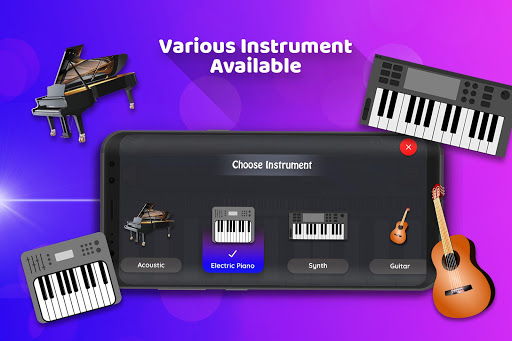 Real Piano Keyboard 1.9 screenshots 3