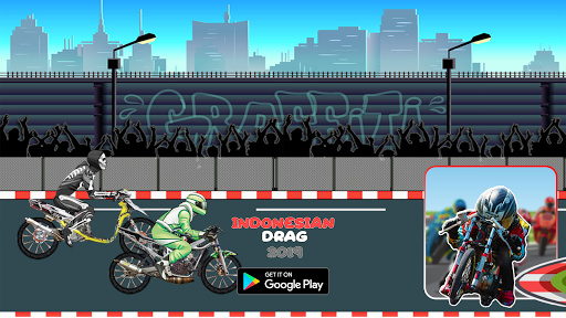 Indonesian Drag Bike : Street Racing 4 screenshots 1