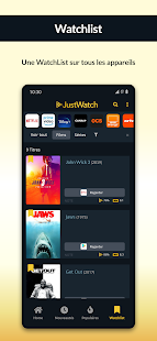 JustWatch - Guide Netflix, VoD et SVoD Capture d'écran