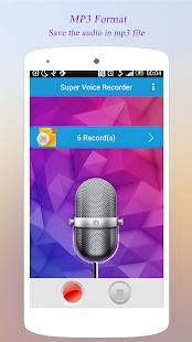 Super Voice Recorder