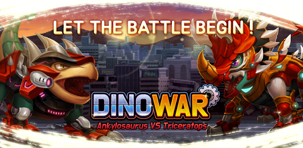 Dino War Ankylo VS Triceratops Hack for Android and iOS 1