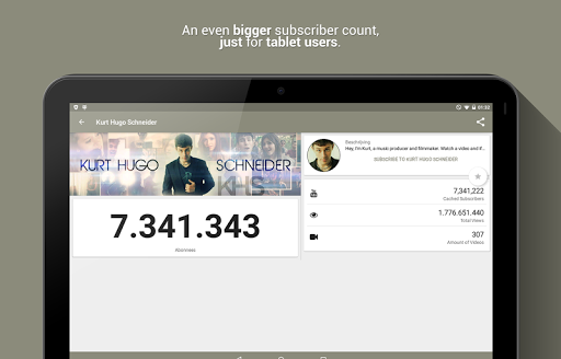 Realtime Subscriber Count 8.2.4-3075-RELEASE Screenshots 8