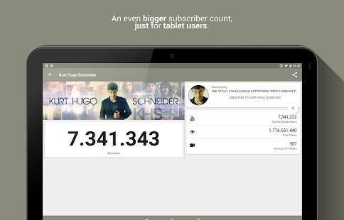 Realtime Subscriber Count 8.3.1-3299-RELEASE APK screenshots 10