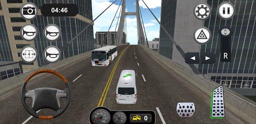 Minibus Bus Transport Driver Simulator apkpoly screenshots 8