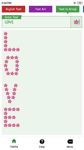 Fancy text generator : Stylish text & cool fonts 1.3.6 Screenshots 4