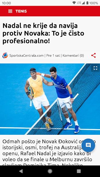 Sport Danas - Sve sportske vesti iz Srbije i sveta screenshot 2