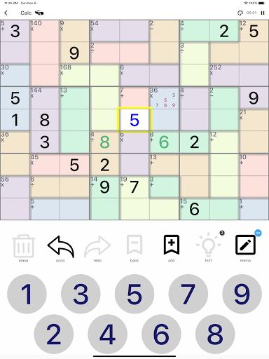 All Sudoku - 5 kinds of sudoku puzzle in one app screenshots 21