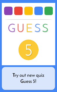Guess 5 - Words Quiz