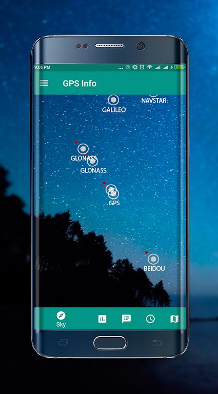 GPS info premium +glonass  poster 13