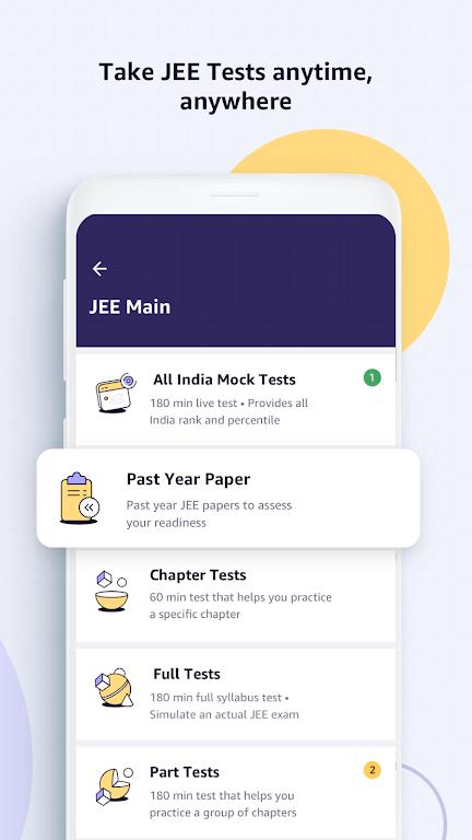 Amazon Academy - IIT JEE Live Courses poster 4