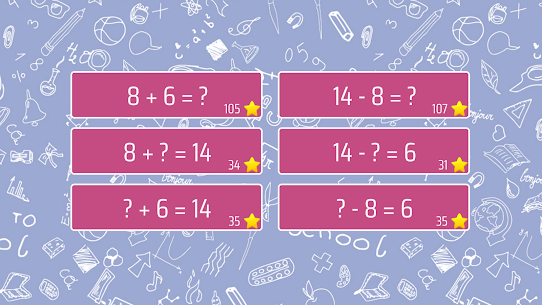 Math Shot Add and Subtract within 20 (MOD APK, Paid) v4.0.3 1