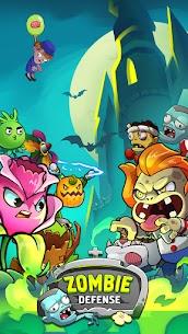 Zombie Defense – Plants War – Merge idle games 1.0.8 1