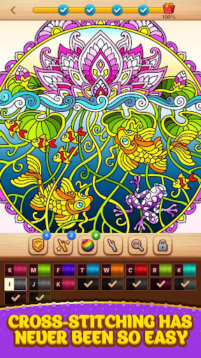 Cross Stitch Coloring Mandala 0.0.236 screenshots 12