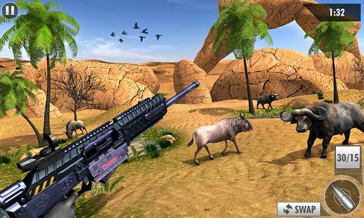 Wild Deer Hunt 2021: Animal Shooting Games apktram screenshots 1