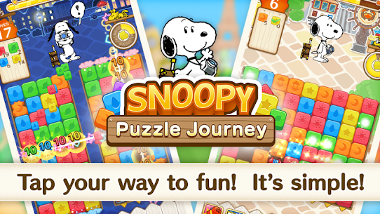 SNOOPY Puzzle Journey 6