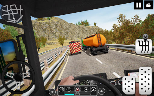 Oil Tanker Truck Driver 3D - Free Truck Games 2020 android2mod screenshots 1