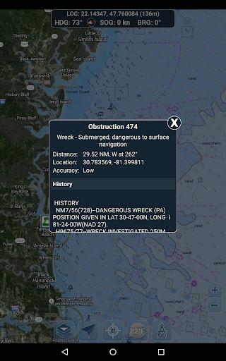 Marine Ways - Free Nautical Charts 1.24 Screenshots 20