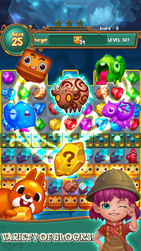 Jewels fantasy:  Easy and funny puzzle game  screenshots 5