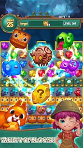 Jewels fantasy: Easy and funny puzzle game 1.7.2 Apk + Mod 5