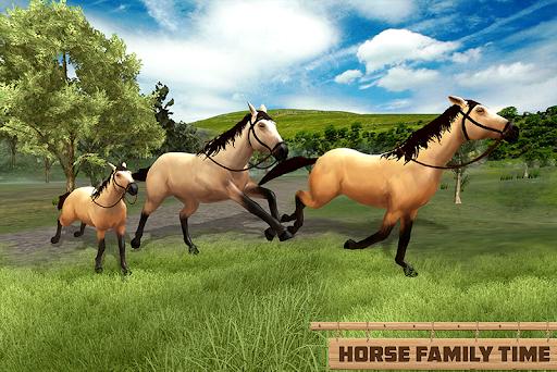 Horse Family Jungle Adventure Simulator Game 2020 screenshots 1