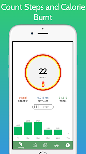 Pedometer - Step Counter Free & Calorie Counter