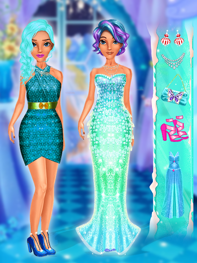ice queen makeup: ice princess salon screenshot 1