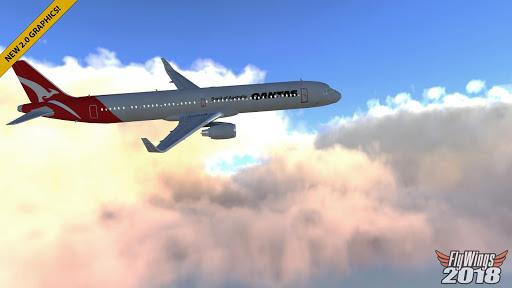 Flight Simulator 2018 FlyWings Free ss2