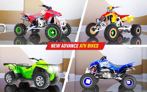 Light ATV Quad Bike Racing, Traffic Racing Games 18 Screenshots 14