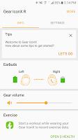 screenshot of Gear IconX Plugin