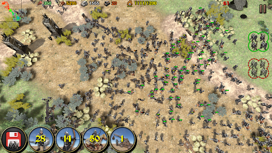 Shadows of Empires: PvP RTS Mod 0.8 Apk (Unlimited money) 5