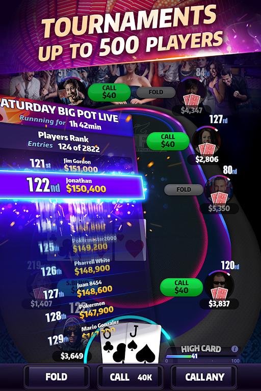 Mega Hit Poker: Texas Holdem  poster 9