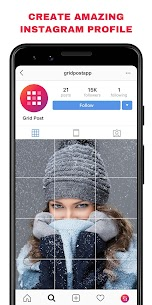 Grid Post – Photo Grid Maker for Instagram Profile MOD (Pro) 3