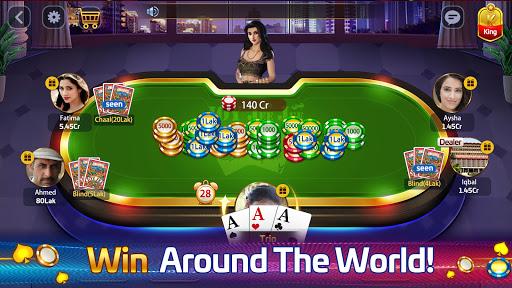 Taash Gold - Teen Patti Rung 3 Patti Poker Game 2.0.20 screenshots 18