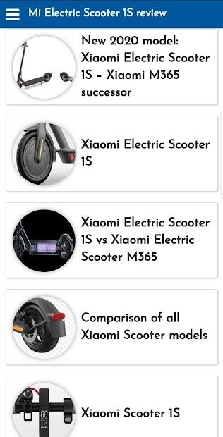 Captura 3 de Mi Electric Scooter 1S review para android