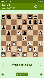 Combinations in the Spanish Game (Ruy Lopez)