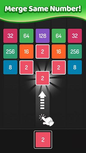 X2 Blocks - Merge Puzzle 2048 APK MOD – Pièces de Monnaie Illimitées (Astuce) screenshots hack proof 2