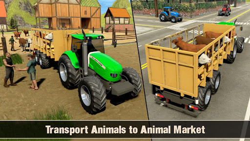 Real Tractor Driving Games- Tractor Games 1.0.13 Screenshots 7