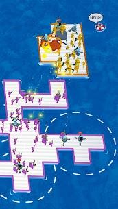 War of Rafts Mod Apk: Crazy Sea Battle (Unlimited Money) 3