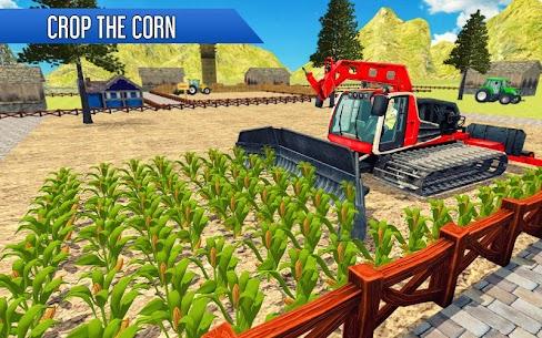 Tractor Thresher Games 3D  Farming Games Apk Download 5