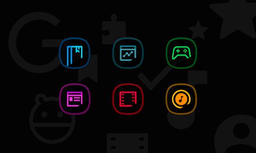 Horux Black APK- Icon Pack (PAID) Download Latest Version 6