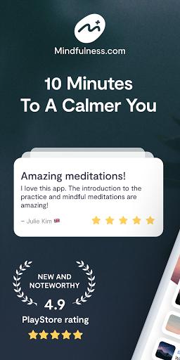 Mindfulness.com: Guided Sleep & Mindful Meditation  screenshots 1