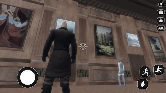 Chicken Detective Police Officer Criminal Cases 3D 1.1 screenshots 1