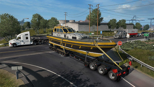 Euro Truck Boat Cargo Driving Simulator 2020  screenshots 11