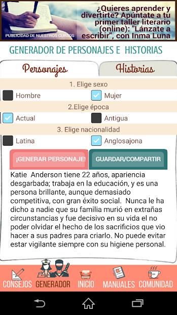 Screenshot 5 de Portal del escritor para android