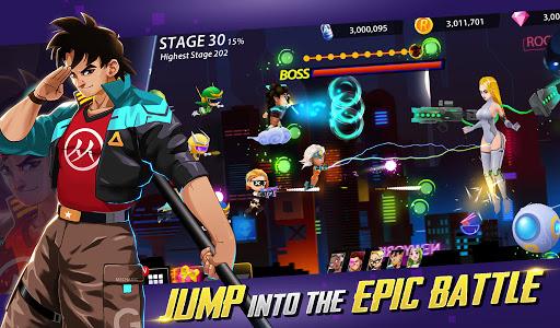 Idle Hero Z - Summon & Merge Cyberpunk 1.0.2 screenshots 1