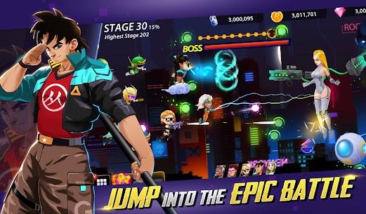 Idle Hero Z Mod Apk- Summon & Merge Cyberpunk (Unlimited Gold) 1