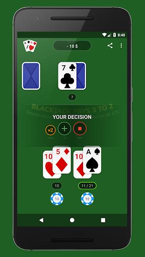 Blackjack - Free & Offline 1.7.1 Screenshots 4